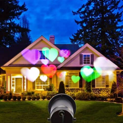 LED Laser Stage Light Snowflake Projector @ Ebay $8.99