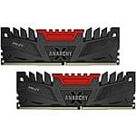 PNY Anarchy 16GB DDR3 (8x2) PC2400  CAS11 - $78.19 shipped.