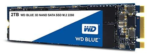 WD Blue 2TB M.2 SSD - $199 with Amazon Prime