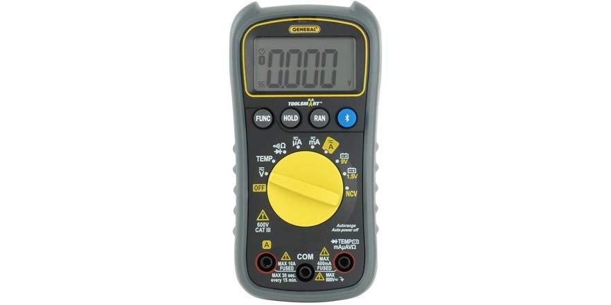 General Tools TS04 ToolSmart Bluetooth Connected Digital Multimeter $22.99