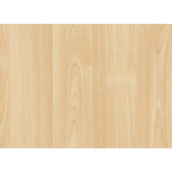 26 in. x 78 in. Maple Self-adhesive Vinyl Film for Furniture and Door Renovation/Decoration $9.16