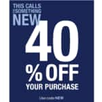 GAP 40% Coupon - Free Ship $50 or More