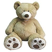 "Costco Wholesale Deal: 53"" Sitting Plush Bear at Costco (B&M) 29.99 + Tax"