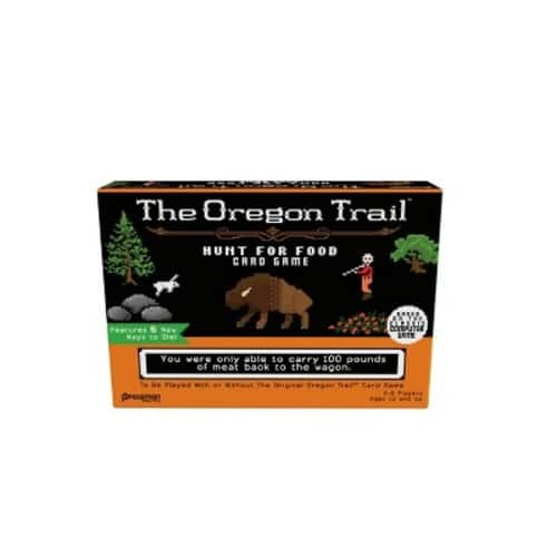 The Oregon Trail: Hunt for Food $5.94 at Target - Features 5 New Ways to Die!