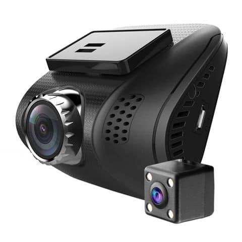 Dual Front / Rear Dash Cam (1080P / 720P) with 32gb memory card $60 Free Shipping $59.95
