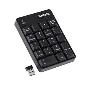 Wireless Numeric Mini Keyboard Numpad 2.4G $9.99 AC @ Amazon with Free Prime Shipping