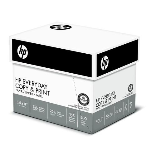 HP Printer Paper, 20lb, 8.5 x 11, Letter, 92 Bright - 2,500 Sheets / 5 Ream Carton $14.80 S&S w/ 15% cpn + FS w/ Prime @Amazon