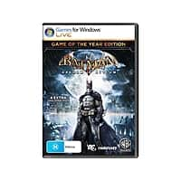 Newegg Deal: Newegg Warner Brothers PC Digital Game Sale - Batman Arkham Asylum/City GOTY $4 each, Lego Batman 1,2 $4 each, & more