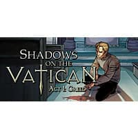 Deal: PCDD - SHADOWS ON THE VATICAN ACT I: GREED for STEAM *FREE* includes Steam trading cards!