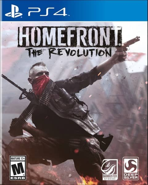 Used: Homefront: The Revolution for PS4 & Xbox1 - $9.99 with Free Shipping + more!