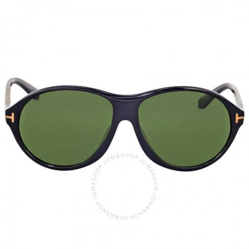 TOM FORD Tyler Round Green Sunglasses $69.99 + Free Shipping