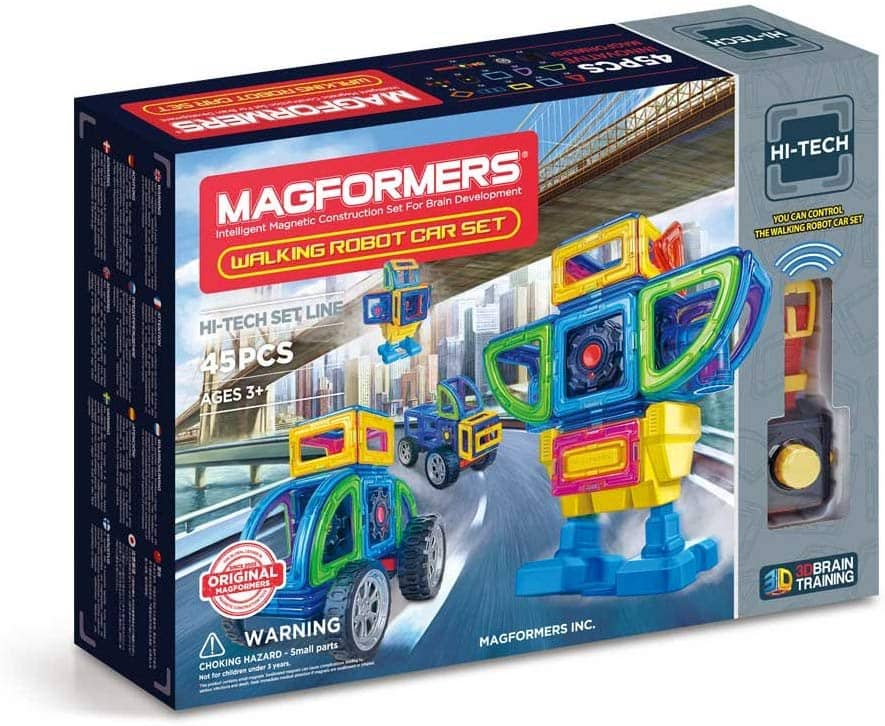 Magformers Walking Robot Car (45 Pieces) Set $33.13 shipped at Amazon