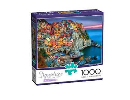 Buffalo Games Signature Series: Cinque Terre - 1000 Piece Jigsaw Puzzle ($4.80 after clipped coupon)