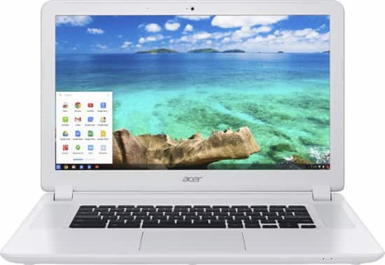 """Acer 15.6"""" Chromebook - Intel Celeron - 4GB Mem - 16GB SD - $199.00"""