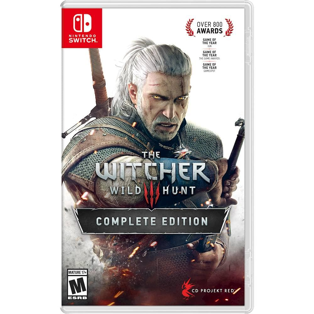 Best Buy - The Witcher 3 - Wild Hunt Complete Edition (Switch) $44.99 ($35.99 w/ GCU)