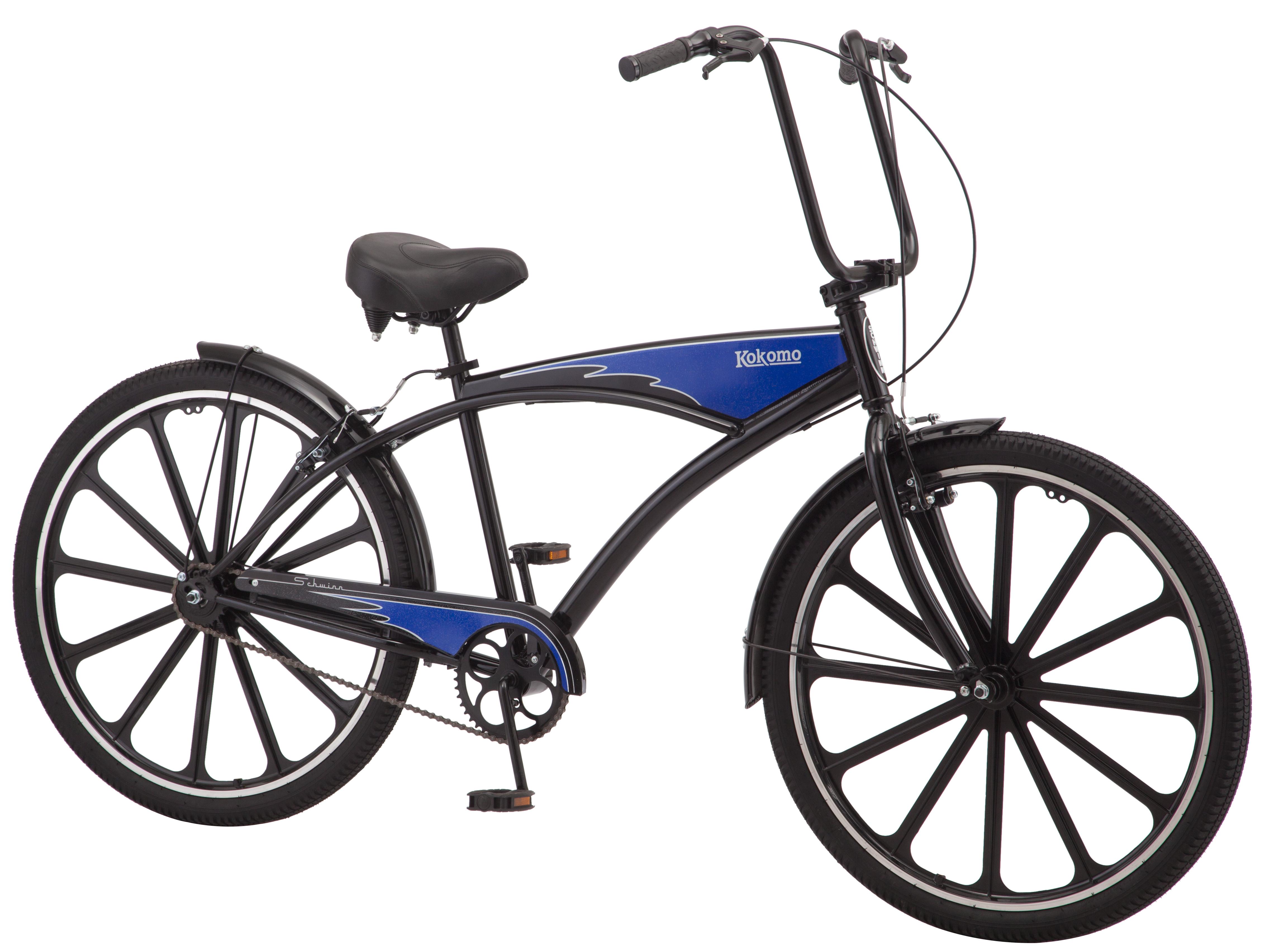 "Schwinn Kokomo Cruiser Bike, 27.5"" wheels, single speed for men $149"