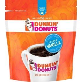 45 oz Dunkin' Donuts French Vanilla Ground Coffee $9.51