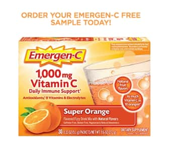 Free Sample - Packet of Emergen-C (Again Available)