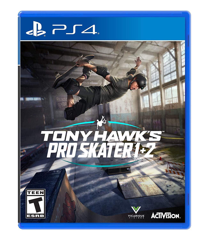 Amazon.com: Tony Hawk's Pro Skater 1 + 2 - PlayStation 4 $24.99