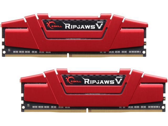 32GB (2x16GB) G.SKILL Ripjaws V 288-Pin DDR4 3000 Desktop Memory