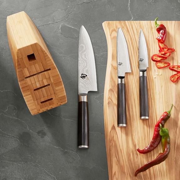 Williams Sonoma - Shun Classic 4-Piece Knife Block Set - $170