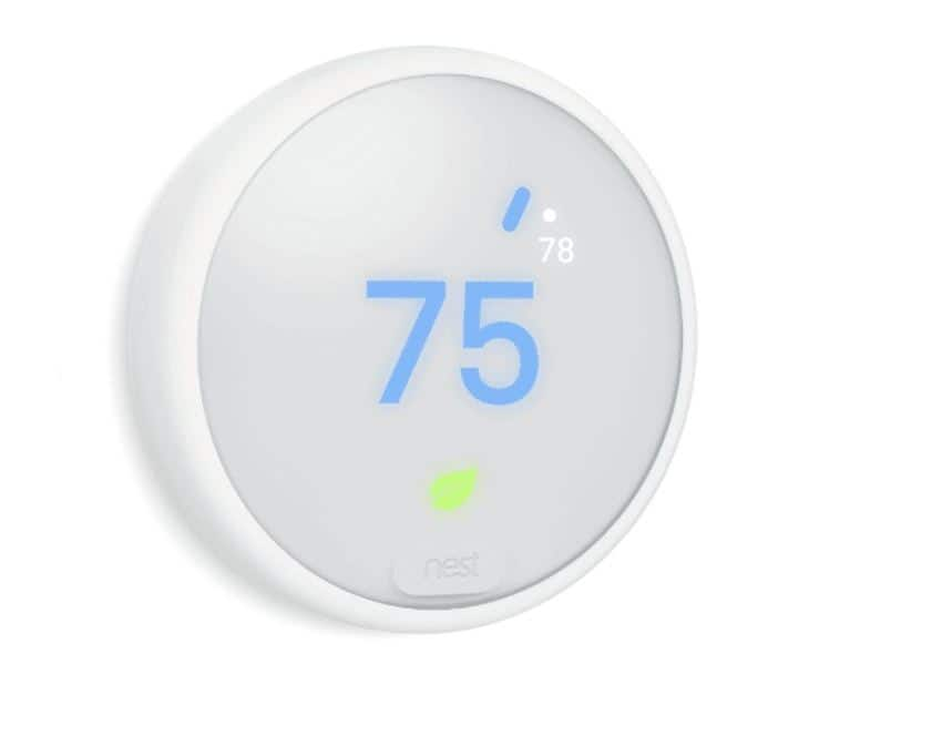 Google Nest Thermostat E at $39 (Original price $160). Only available at select locations.