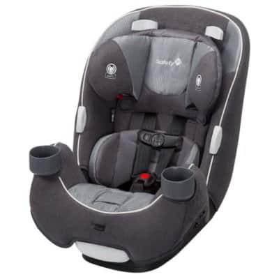 Safety 1st EverFit 3-in-1 Convertible Car Seat (Choose Your Color) $84.86