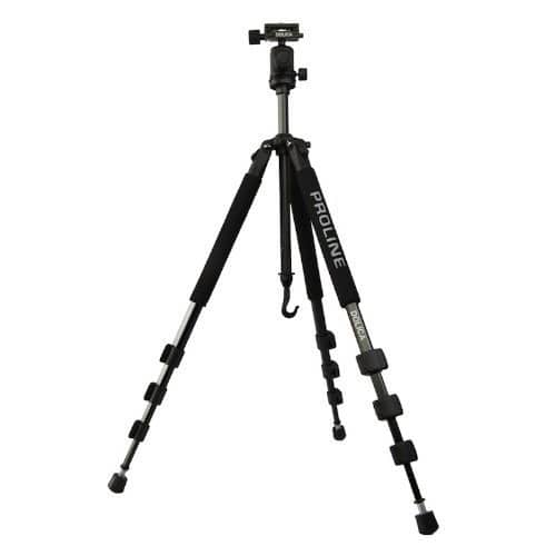 Dolica GX650B204 Proline GX Series 65 inch Aluminum Tripod and Ball Head Combo for DSLR, SLR [Standard Packaging, 65 inch] $44.99