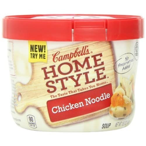Campbell's Homestyle Soup, Chicken Noodle, 15.3 Ounce S&S eligible @ Amazon $9.31