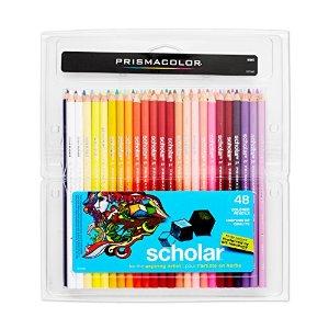 Prismacolor Scholar Colored Pencils, 48 Pack - $13 Amazon