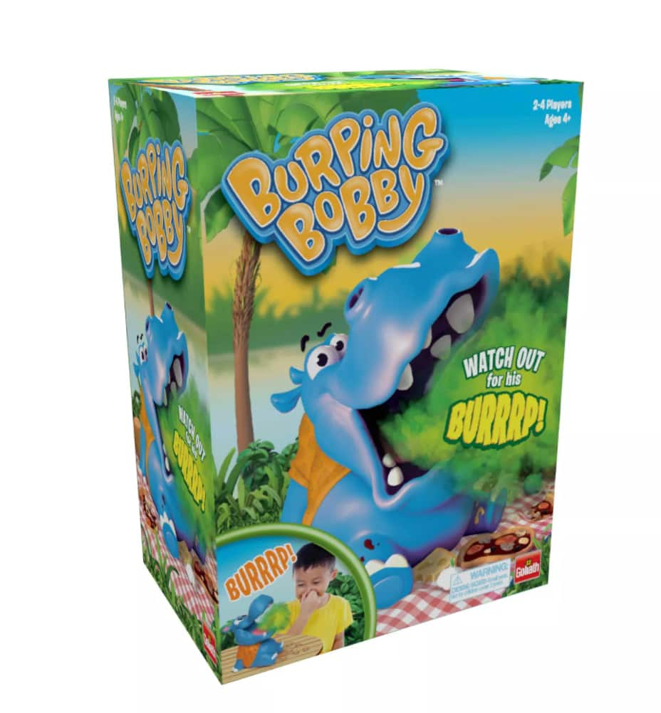 Goliath Burping Bobby Game $9.95, Yulu Break The Board Game $7.49 + 2.5% SD Cashback + Free Store Pickup at Target or FS on $35+