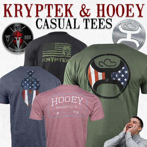 Kryptek & Hooey Casual Tee (9 styles) $7.50 + Free Shipping
