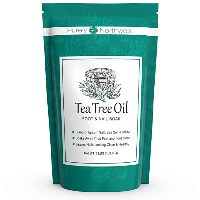 16-oz Tea Tree Oil Foot Soak w/ Epsom Salt $9.74 w/ S&S + Free Shipping w/ Prime or on order $25+