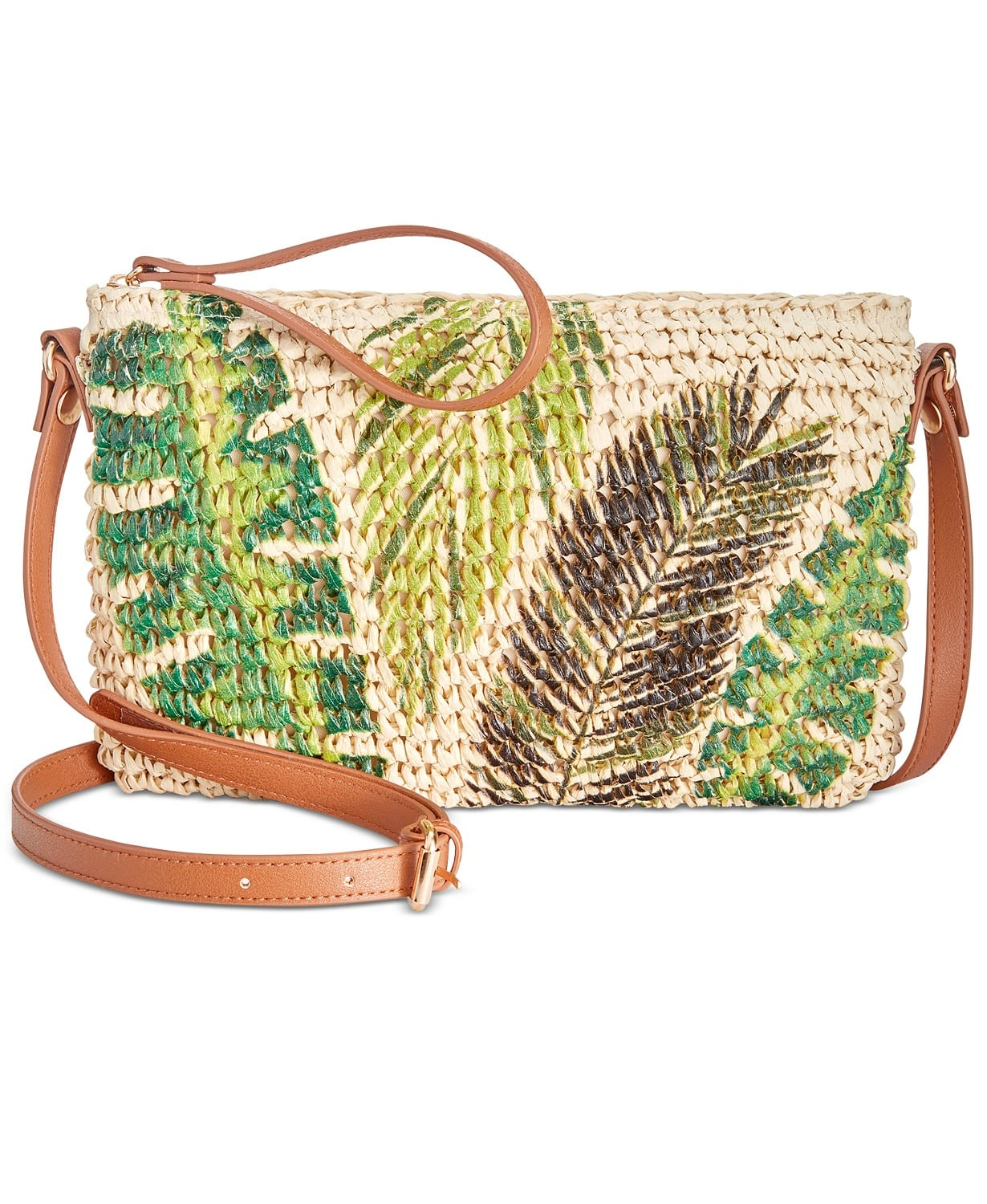 Women's Handbags & Accessories: INC Tropical Straw Crossbody $11.76, Tommy Hilfiger Smooth Dome Backpack $58.93 & More + F/S on $25+