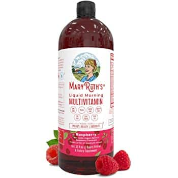 32-Oz Mary Ruth's Morning Liquid Vegan Multivitamin (raspberry) $25.96 & More w/ S&S + Free Shipping w/ Prime or on $25+