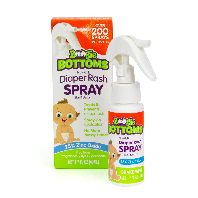 1.7-Oz Boogie Bottoms Diaper Rash Cream Spray $6.83 + Free Shipping w/ Prime or on orders $25+