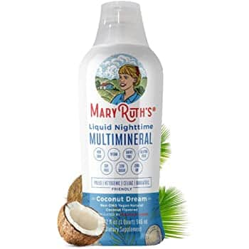 32-Oz Vegan Nighttime Multimineral Liquid (coconut) $25.96, 1-Oz Organic Elderberry Immunity Syrup (blueberry/raspberry) w/ S&S, More + F/S w/ Prime or on orders $25+