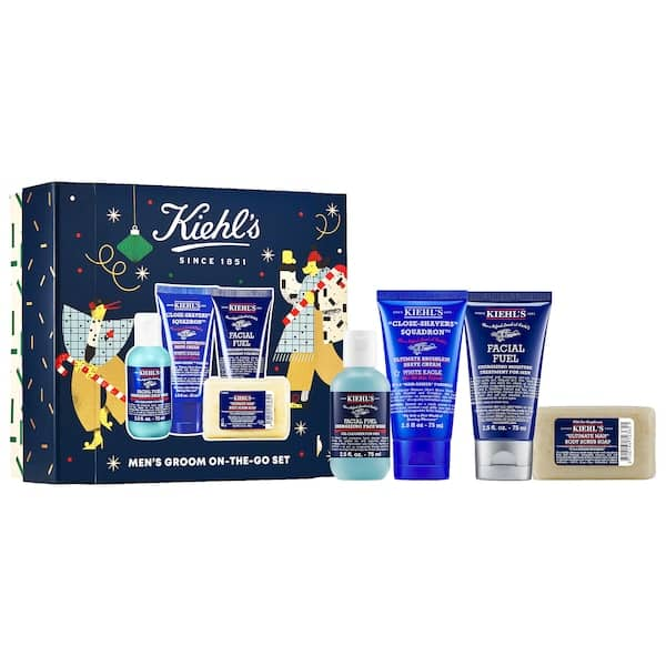 Sephora Skincare Sale: Kiehl's Since 1851 Men's Groom On The Go $32, Fresh Day & Night Cleansing Duo $19 & More + Free Shipping