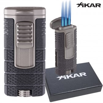 Xikar Tactical Triple Torch Lighter (black/gunmetal) $35 + Free Shipping