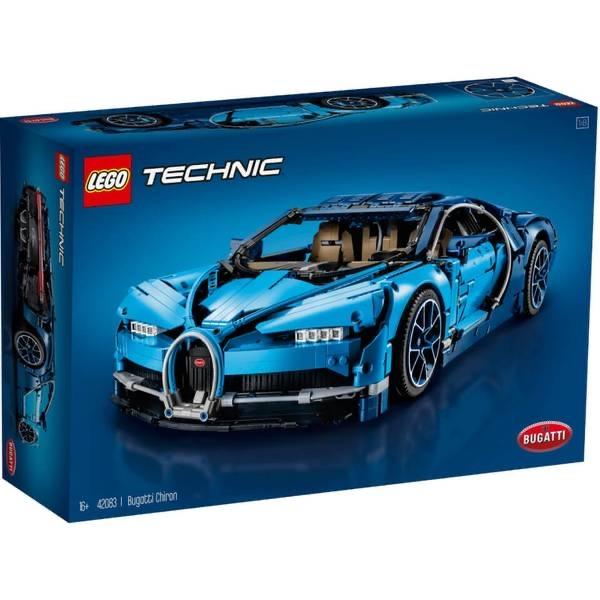 LEGO Technic: Bugatti Chiron Sports Race Car Model (42083) 20% off + FS - $279.99