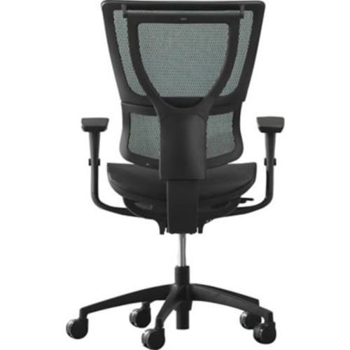 Staples Professional Series 1500TM Mesh, regular $429 (or 1500TF Fabric, regular $407) Chair, black (free overnight shipping) $249
