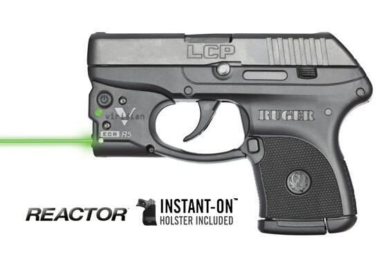 Ruger LCP with Viridian green laser $318 at Bud's