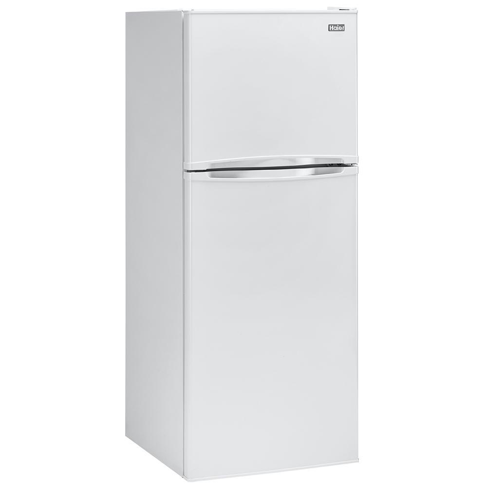Haier 9.8 cu. ft. Refrigerator, White $277