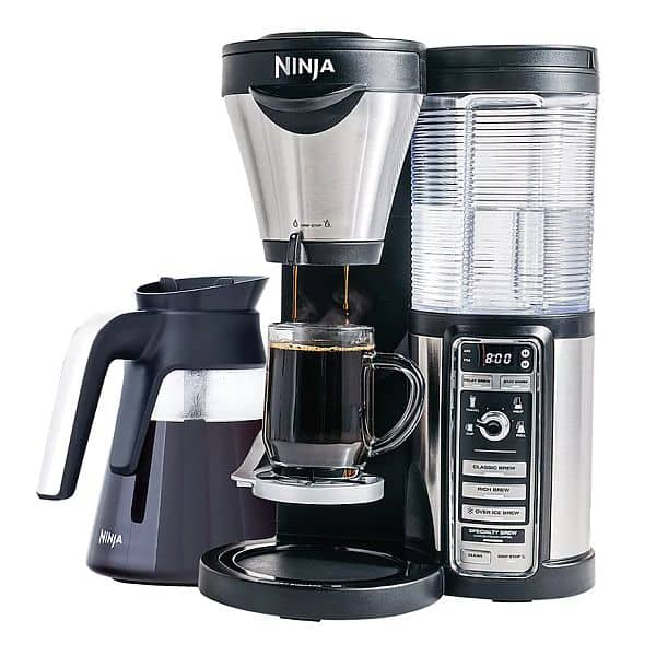 Kohls Ninja Coffee Bar with Glass Carafe. Was $199, now $85 w/15% off = $15 Kohls cash