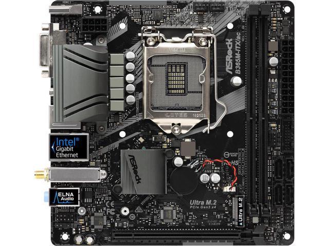 ASRock B365M-ITX/ac Intel B365 Mini ITX wifi Motherboard $72 AC