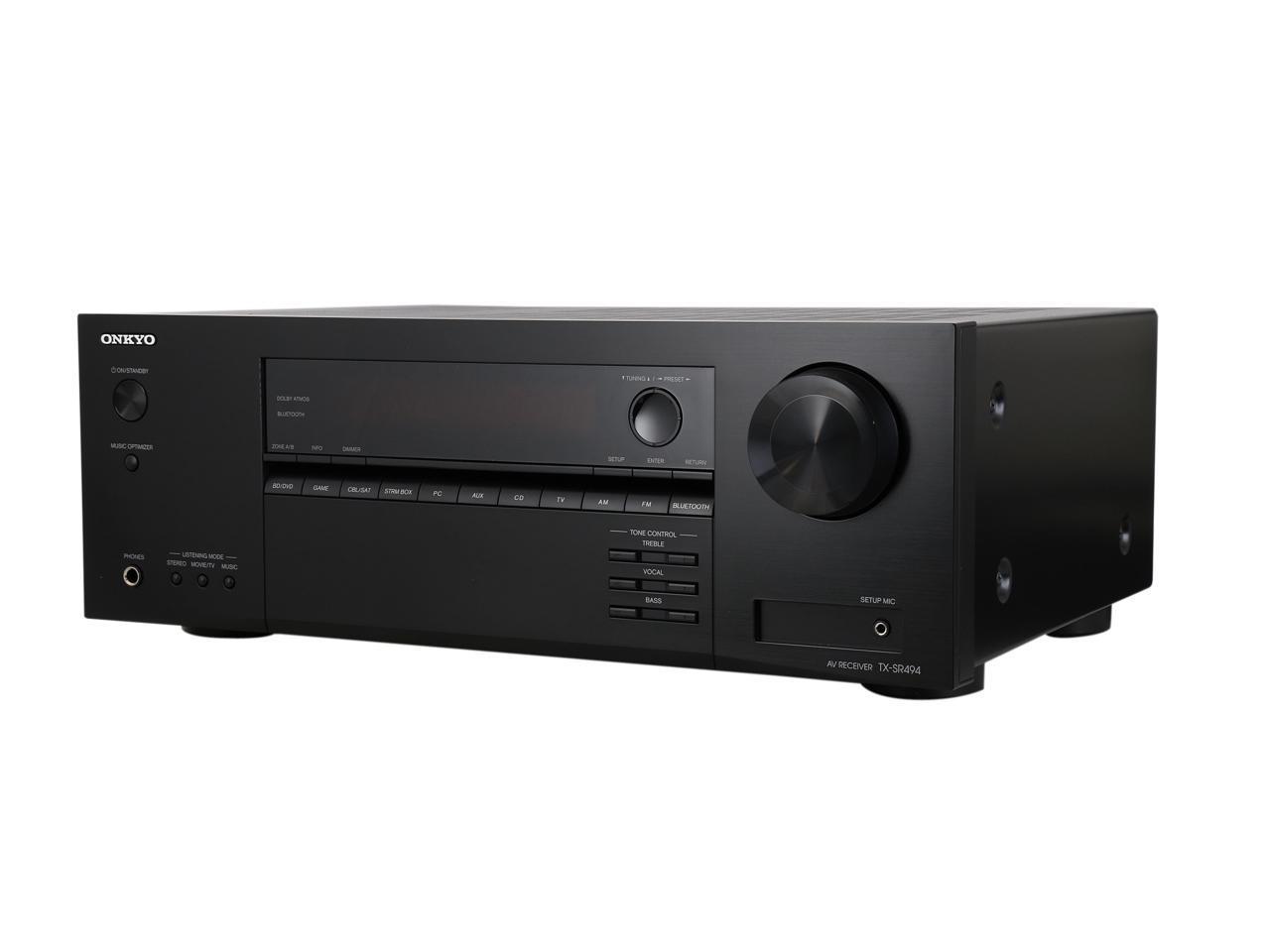 Onkyo TX-SR494 7.2-Channel A/V Receiver $204 after promo code 72HRJAN6