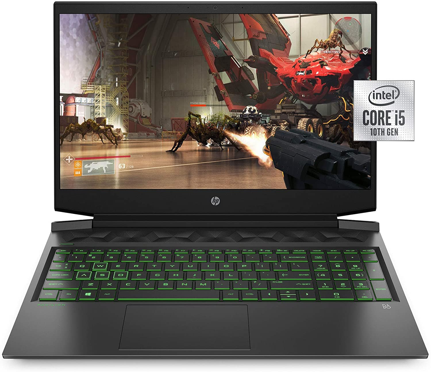 """16"""" HP Pavilion 16″ FHD i5-10300H 2.5GHz / NVIDIA GeForce GTX 1650 / 8GB RAM / 256GB SSD $594 (plus tax) with free shipping (open box)"""
