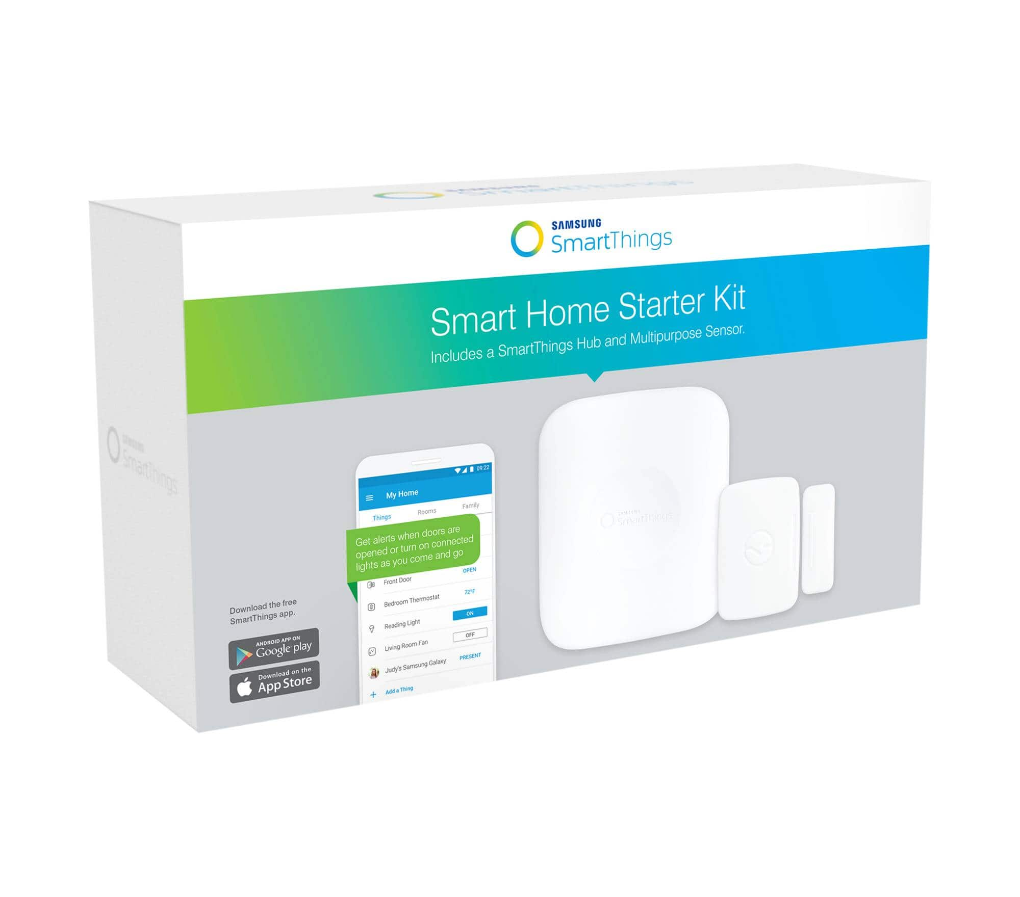 SmartThings Starter Kit Door and Window Sensor $59.99