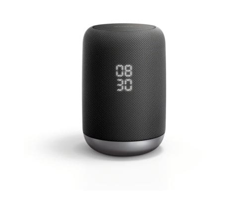 Sony LF-S50G/B Smart Speaker with Google Assistant Built-In, Manufacturer Refurbished, $49.99