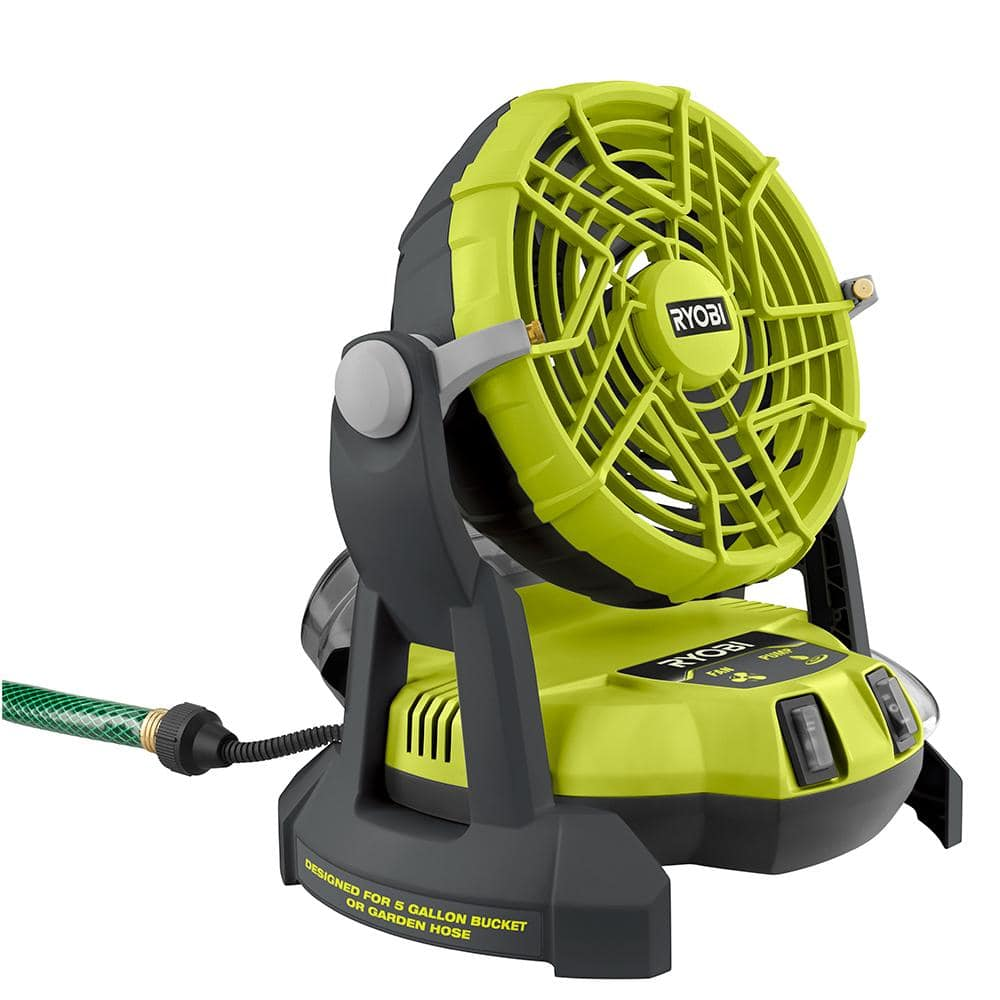 Ryobi 18v Portable Bucket Misting Fan (Factory Blemished) $37.49 (Shipping no longer available/in store pick up only) at Direct Tools Outlet